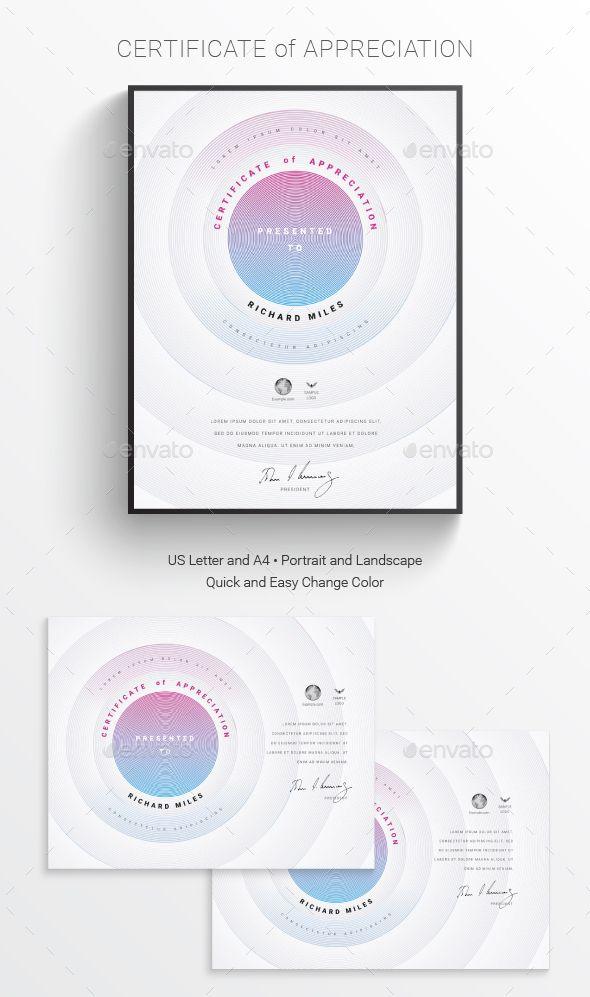 Certificate Template PSD AI Design Certificate Templates