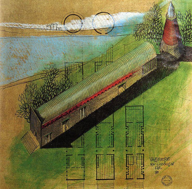 Aldo Rossi. Architecture D'Aujourd'Hui 258 September 1988: 73 | RNDRD