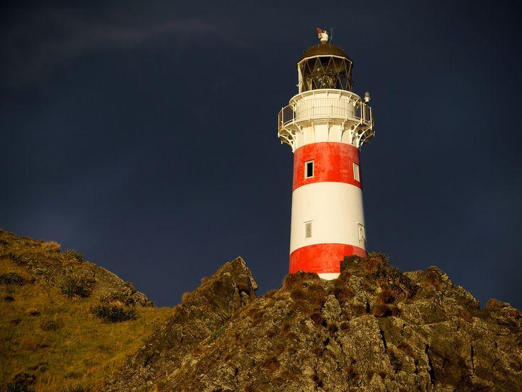 The lighthouse at Cape Palliser