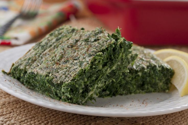Really Simple Spinach Souffle | MrFood.com