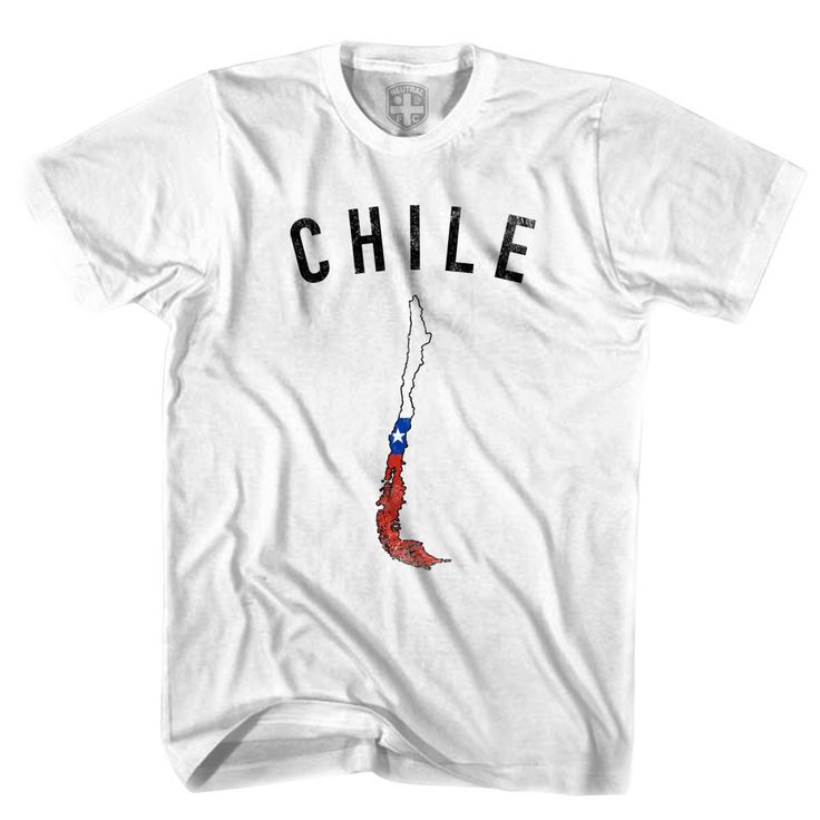 Chile Flag & Country T-shirt
