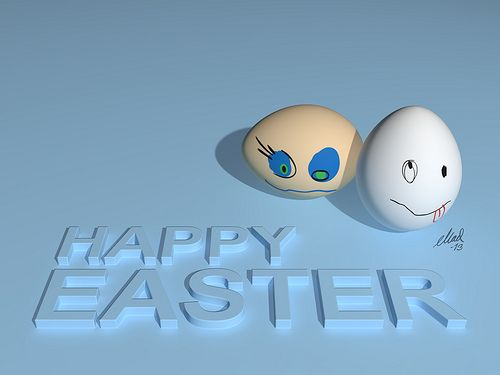 3DS Max - Happy Easter 2013