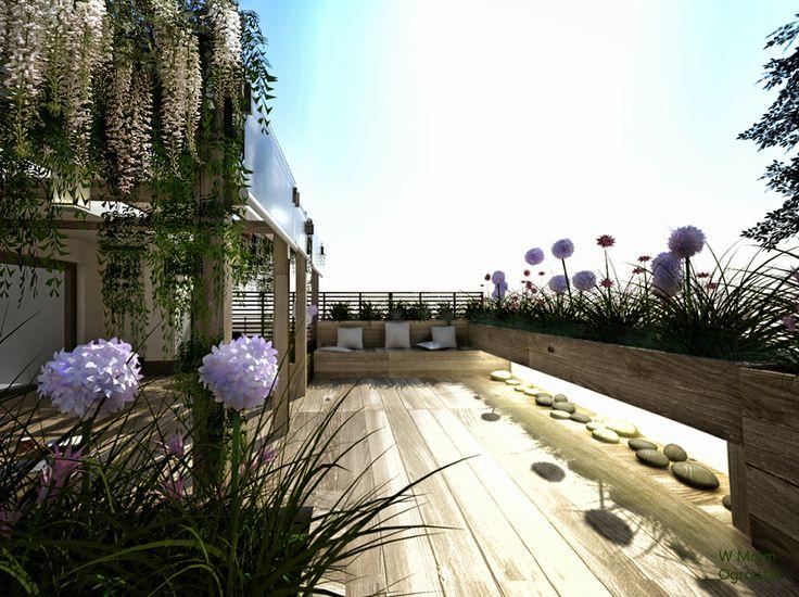 rooftop terrace by W Moim Ogrodzie
