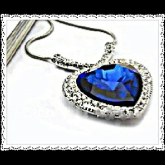♥Gorgeous Titanic Heart of the Ocean. Available now. ♥