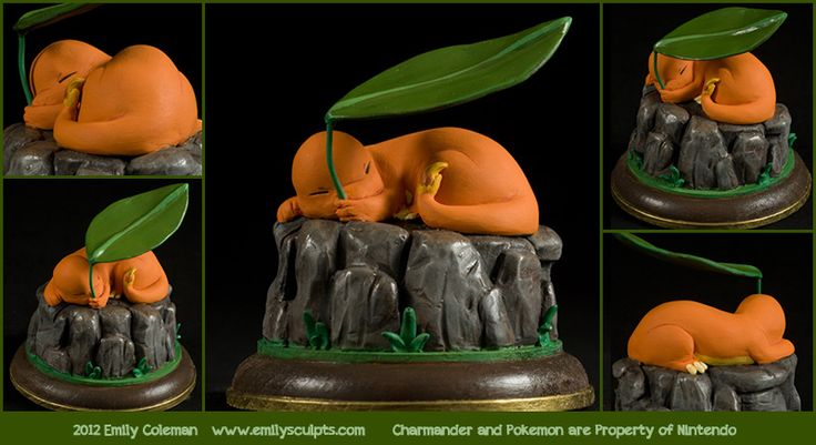 Charmander - The Stray Pokemon by emilySculpts.deviantart.com on @deviantART