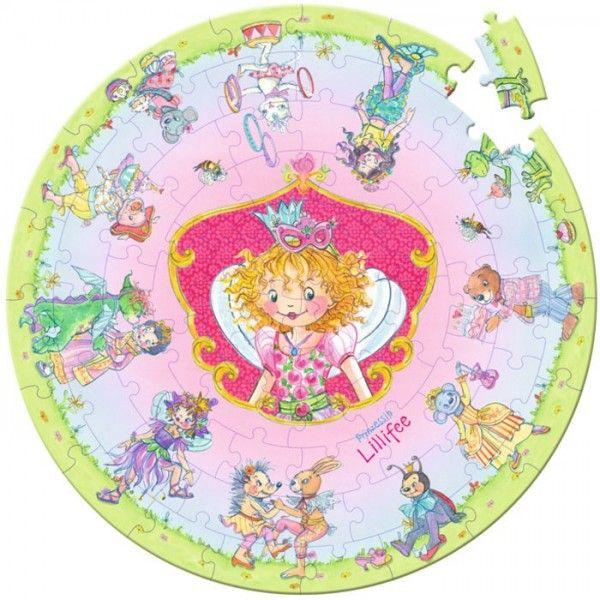 Παζλ «Lillifee»   Το Ξύλινο Αλογάκι - παιχνίδια για παιδιά
