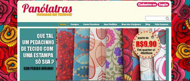 Milonga: Comprar tecidos pela internet