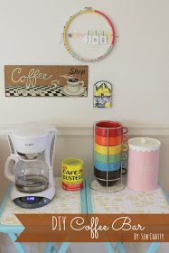 Sew Chatty: {DIY Coffee Bar...and DONUTS!} world market - those mugs!