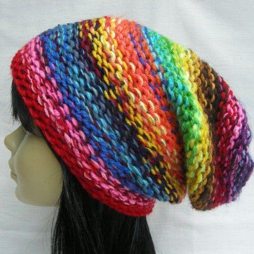 Ala NEPAL, czapka na drutach - Czapki, berety - Ubrania