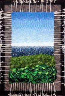 Dimensional Weaving - Martina Celerin 3D fiber art