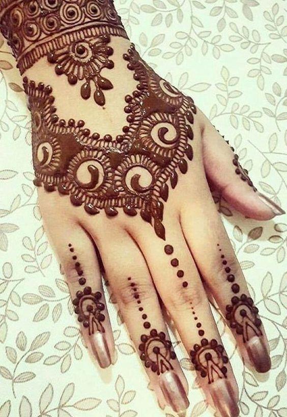 Top 10 Hand Henna Mehndi Designs For Brides Mehndi Designs 2018