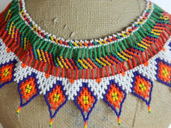 Collar de Colombia por GiustiByJanine en Etsy