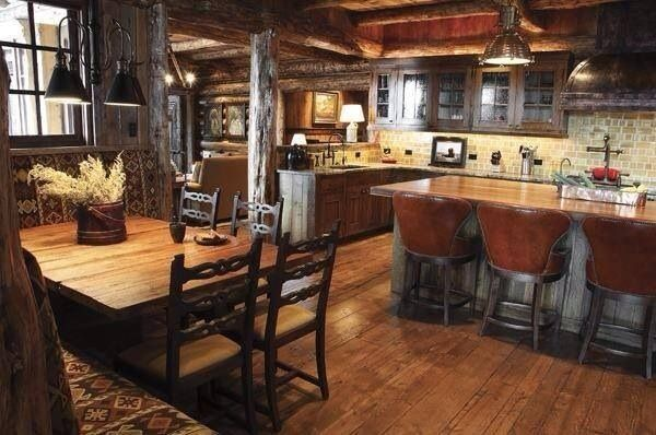 40 Rustic Kitchen Designs To Bring Country Life Designbump: 20 Best Images About Barndominium On Pinterest