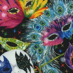 MARDI GRAS MASKS FABRIC Mask Contest for Sabine Parish 4Hers Due Date Feb 21st 9-12th graders must design and make their own Mardi Gras Mask. Must include LA, Mardi Gras, and 4H