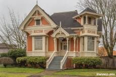 c.1890. Baker Street, Albany, Oregon