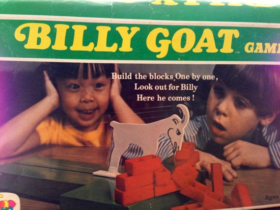Vintage a billy Goat Game Kids game 1970s by Cootie by slovintage, $12.95