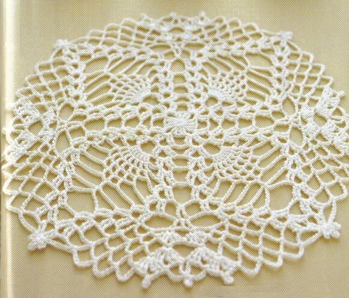 easy crochet dollies patterns   Crochet Art: Small Pineapple Crochet Lace Doily