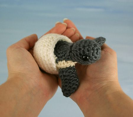 Baby Sea Turtle Collection amigurumi crochet pattern by PlanetJune