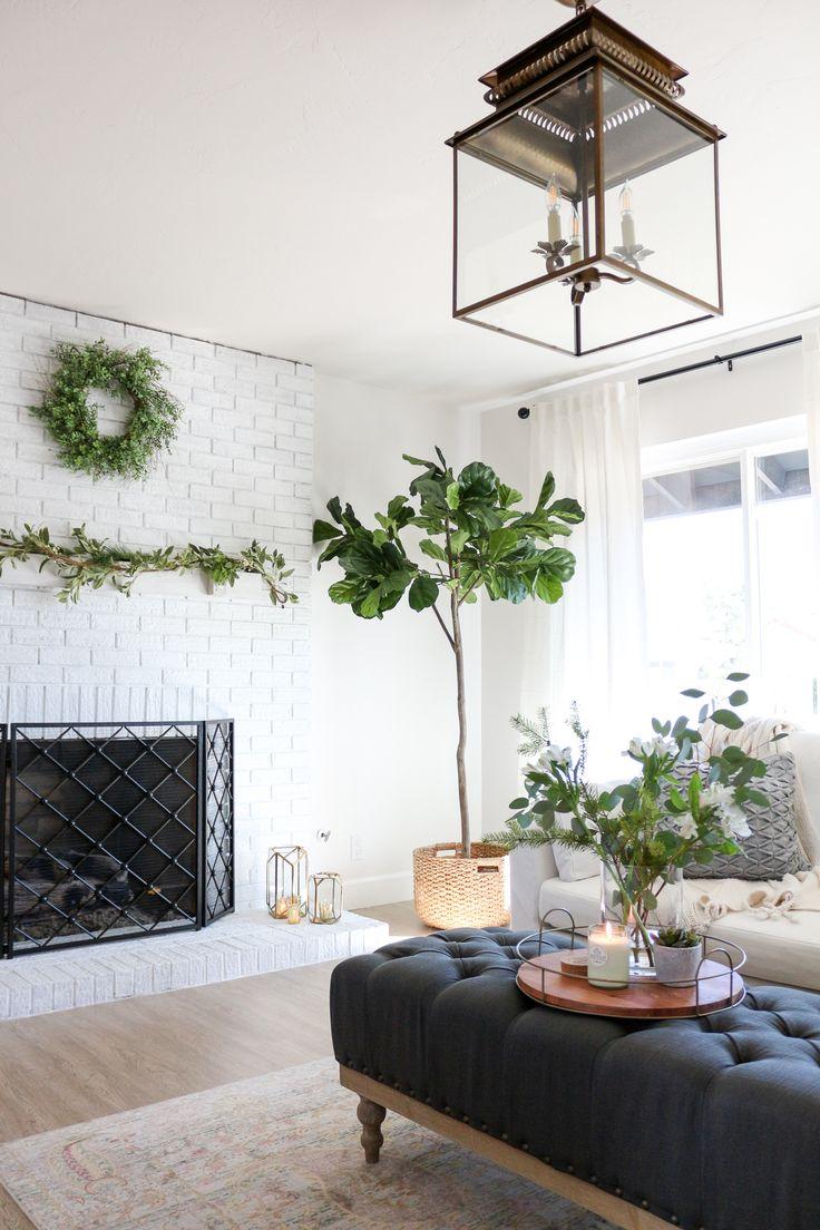 Cozy Hygge Modern Farmhouse Style Living Room Hygge