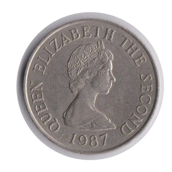 Jersey 10 Pence 1987 Coin Code:JMC1866 by COINSnCARDS on Etsy