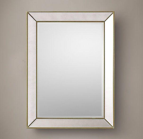 Web Image Gallery Restoration hardware venetian beaded mirror