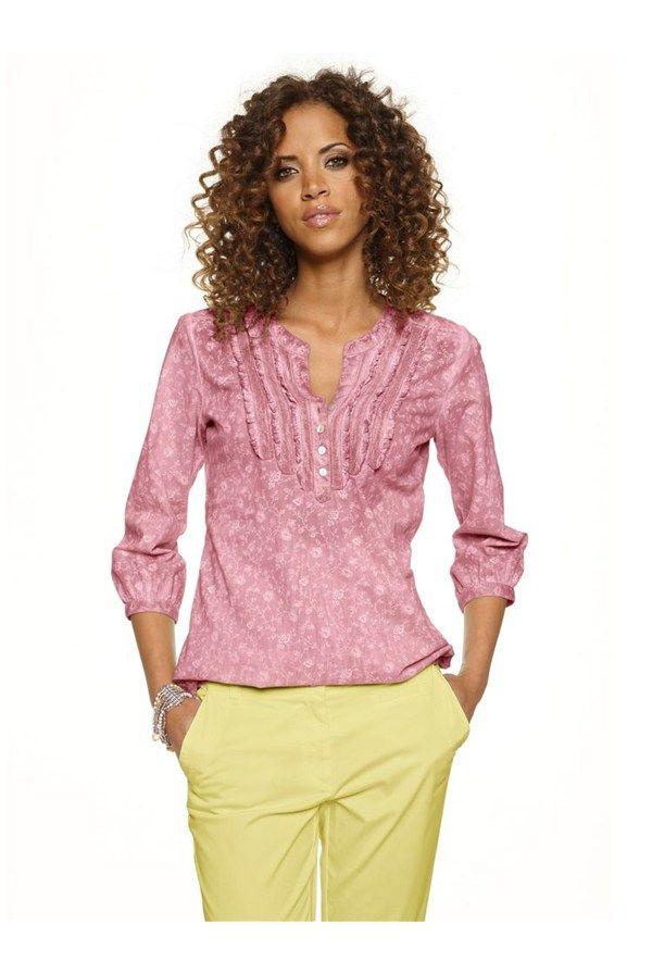 Bluză,+roz