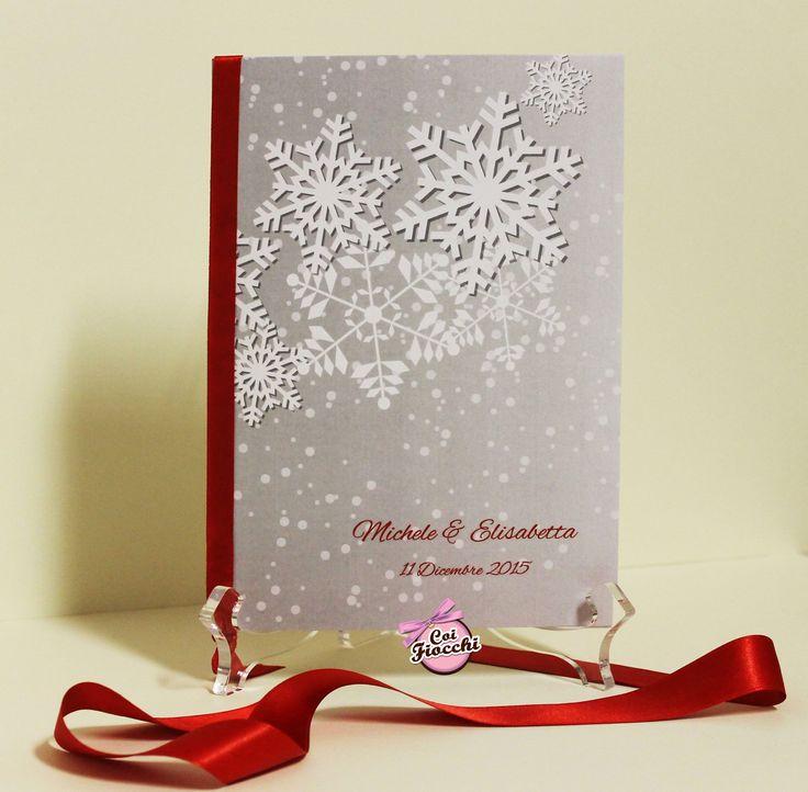 Libretto messa per il matrimonio a tema natalizio dei nostri sposi Michele&Elisabetta