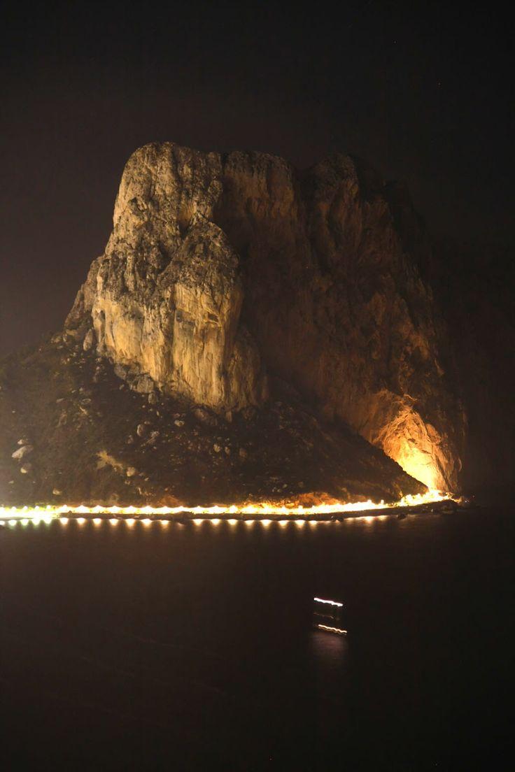 Noche del  Fuego.Olla de Altea .Alicante .Spain .