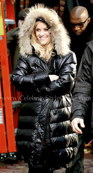 Reese Witherspoon Style And Fashion Moncler Nantes Down