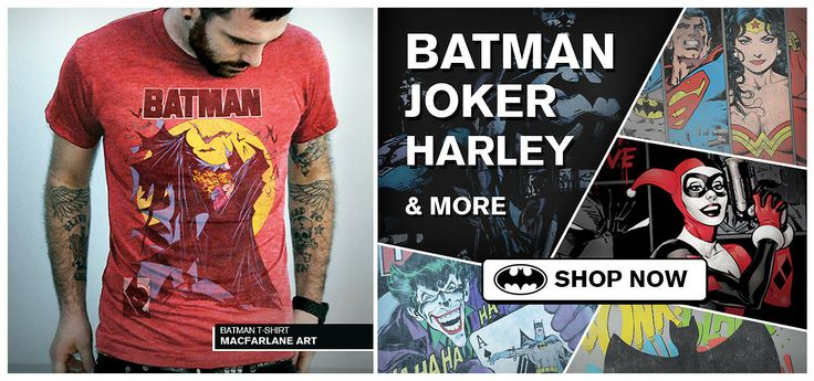 Would you rather be Batman, Joker or Harley and why? http://www.jackofalltradesclothing.com/collections/dc/Mens#