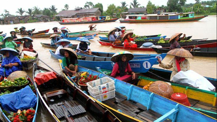 floating market Lok Baintan