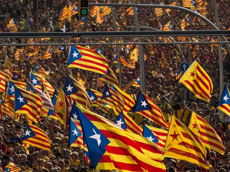 """Catalans who want independence are being thwarted by a flawed Spanish constitution - independent.co.uk, ALISTAIR DAWBER, 12 November 2014. """"But for now, it is the Madrid that faces the biggest problems – what can it now do to assuage the Catalans and persuade them to stay within Spain? The solution is not clear, but the mess is a result of political decision-making in Madrid, or a lack of it, and whatever solution is cooked-up, be it make-up or break-up, it is likely to be extremely costly."""""""