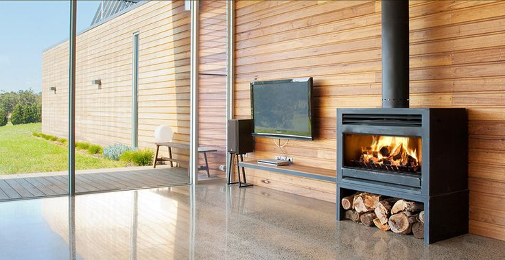 Home interior inspiration with Heatmaster Open Wood Fireplace | Made in Australia