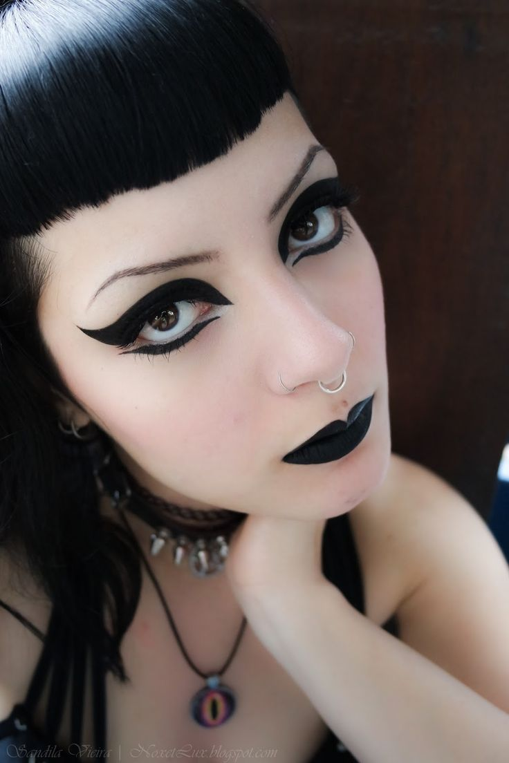 1000 ideas about pastel goth makeup on pinterest nu goth makeup - Sandila Vieira Love Her Makeup Gothic