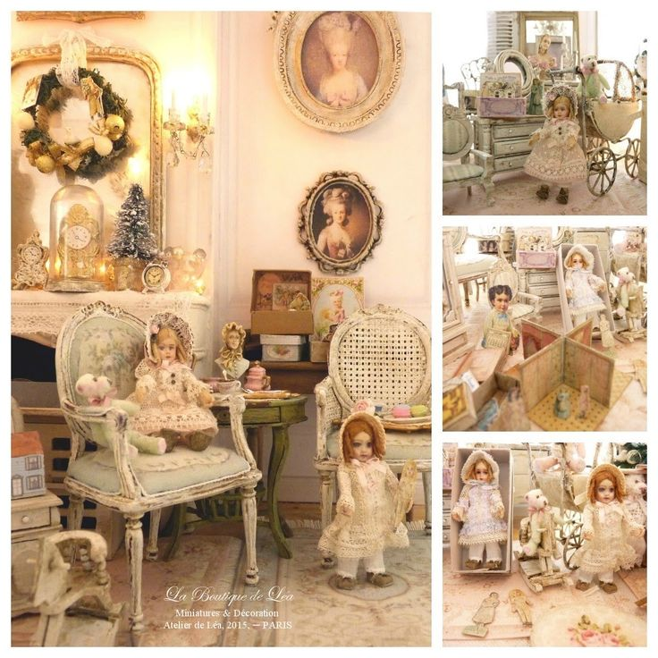 1283 best Miniaturas Shabby Chic images on