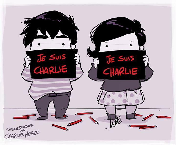 Simple&Madama  #JeSuisCharlie #CharlieHebdo