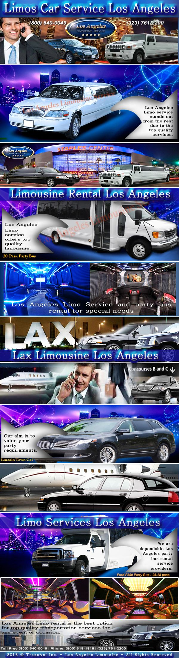 Visit our site http://www.lalimorental.com for more information on Limos Car Service Los Angeles.Excitement and glamour of Limos Car Service Los Angeles to daily living can help to make everyone involved feel special and important. When trying to make your world a little brighter, consider how hiring Limos Car Service Los Angeles could improve not just your special occasions but also your everyday life.