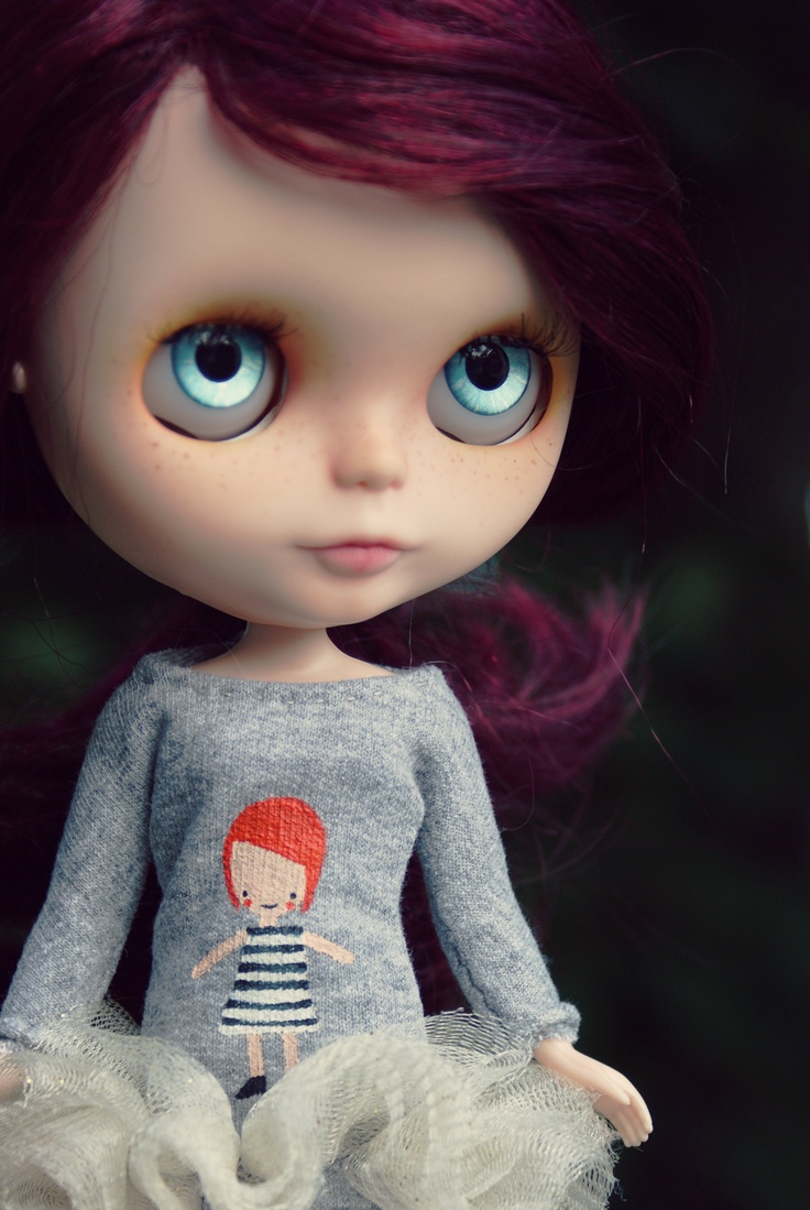 friend's custom blythe doll, created by MilkyRobot