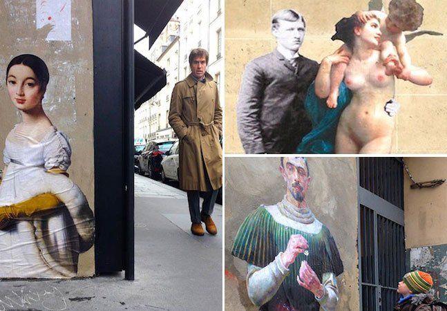 O artista e cineasta Julien de Casabiancacriou oOutingsProject, no qual insere personagens anônimos e esquecidos das obras de artes dos museusemmuros e espaços públicos de diversas cidades. O objetivo do projeto é espalhar arte e história pelas ruas e fortificar a relação entre espaços urbanos e o coletivo cultural. O projeto surgiu quando Casabianca estava no museu Louvre,em Paris, no ano passado, e se deparou com uma pintura de uma prisioneira escondida em um canto do museu. Logo…