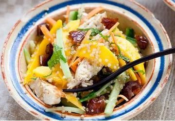 Chicken, Mango and Quinoa Salad Recipe - Viva