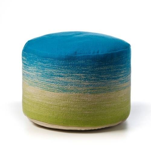 Adairs Kids Neon Pouf Green - Home & Gifts Cushions - Adairs Kids online