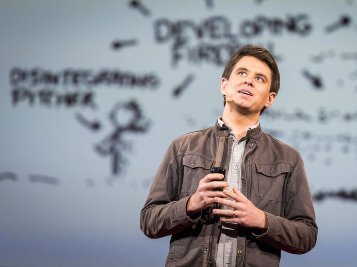 """❛Randall Munroe❜ TED2014: Comics that ask """"what if? • """"Web cartoonist Randall Munroe answers simple what-if questions ('what if you hit a baseball moving at the speed of light?') using math, physics, logic and deadpan humor. In this charming talk, a reader's question about Google's data warehouse leads Munroe down a circuitous path to a hilariously over-detailed answer — in which, shhh, you might actually learn something."""""""