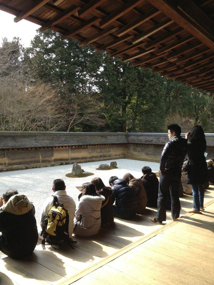 大雲山 龍安寺 Ryoan-ji Temple in 京都市, 京都府, Kyoto