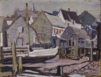 Arthur Lismer Maritime Village, c.1930