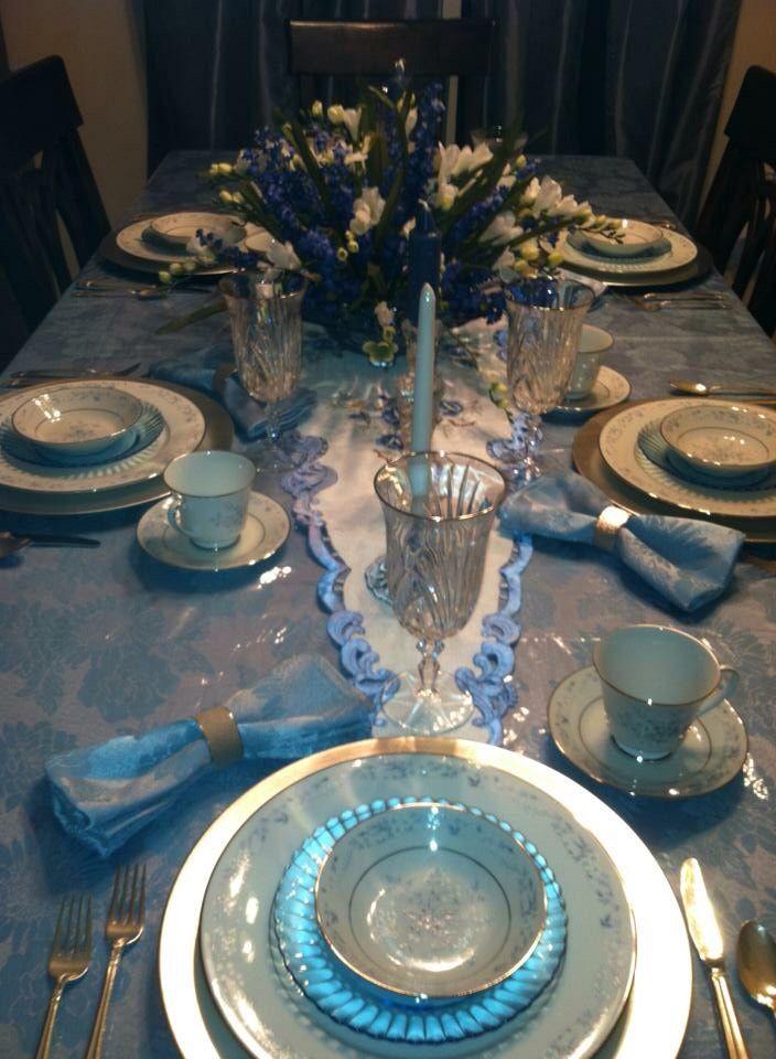 Emphasizing the blue