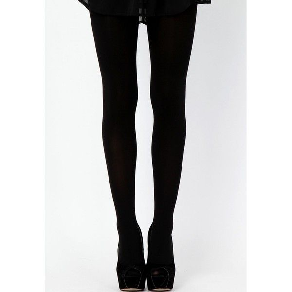 Missguided Neola 120 Denier Tights (25 BRL) ❤ liked on Polyvore featuring intimates, hosiery, tights and delivery options