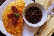 Chorizo omelet - QueRicaVida.com