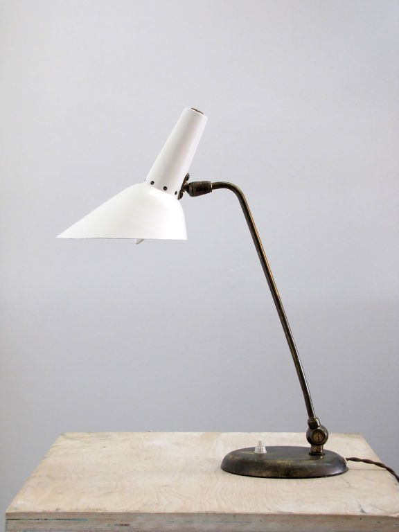 Scandinavian Table Lamp | From a unique collection of antique and modern table lamps at http://www.1stdibs.com/furniture/lighting/table-lamps/