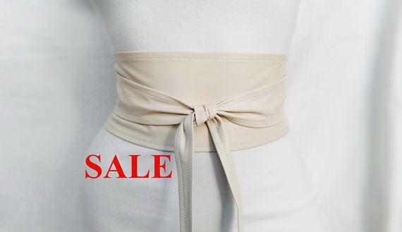 Black Flower belt Black and Gold Leather belt Black corsage belt wrap tie belt