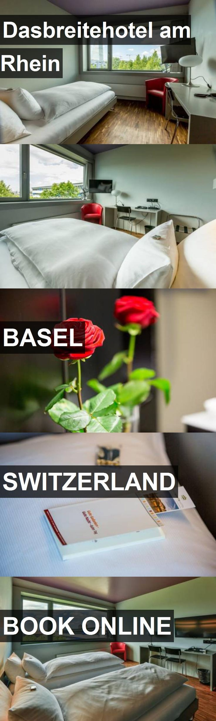 Dasbreitehotel am Rhein in Basel, Switzerland. For more information, photos, reviews and best prices please follow the link. #Switzerland #Basel #travel #vacation #hotel